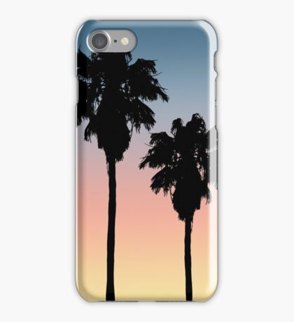 Sunset Palm Trees iPhone Case/Skin