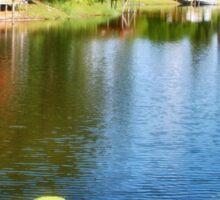 Life on the Lake Sticker