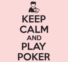 Keep calm and play poker Kids Tee