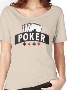 Poker Women's Relaxed Fit T-Shirt