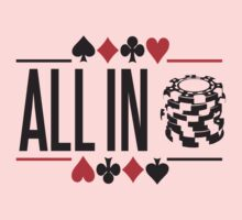 All in Baby Tee