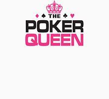 Poker Queen Womens Fitted T-Shirt