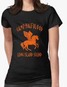percy jackson camp half blood Womens Fitted T-Shirt