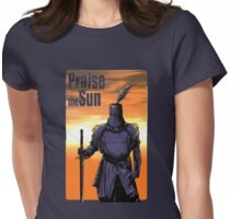 Praise The Sun Block Womens Fitted T-Shirt