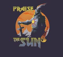 Praise The Sun Black Womens Fitted T-Shirt