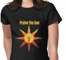 Praise The Sun San Womens Fitted T-Shirt