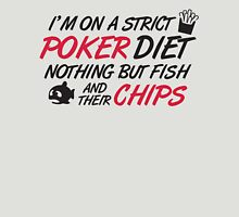 Poker diet: Fish and their chips Unisex T-Shirt