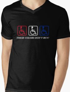 These Colors Don't Run! Mens V-Neck T-Shirt