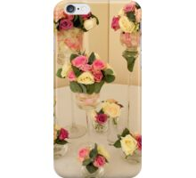 Wedding day floral elegance iPhone Case/Skin