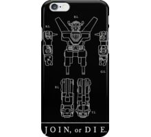 Join or Die Defender iPhone Case/Skin