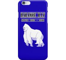 Harambe Since 1985 - 2016 iPhone Case/Skin
