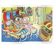 Adventure Bedtime Poster