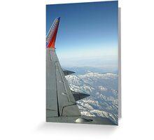 Landing in Nevada Greeting Card