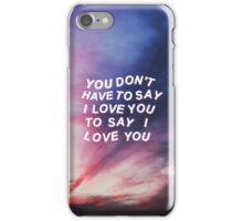 FOR HIM iPhone Case/Skin