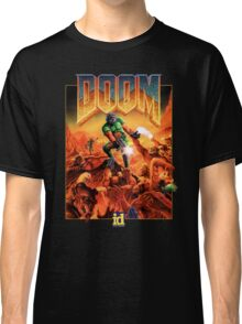 Doom Poster Art 1993 PC Classic T-Shirt
