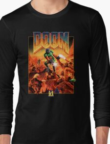 Doom Poster Art 1993 PC Long Sleeve T-Shirt