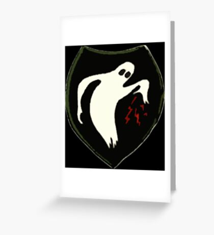 Ghost Army Greeting Card