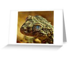 Rough Knob - Tailed Gecko Greeting Card