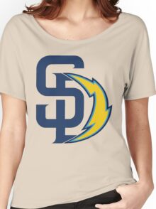 san diego chargers Women's Relaxed Fit T-Shirt