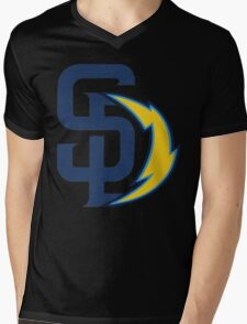 san diego chargers Mens V-Neck T-Shirt
