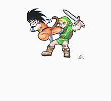 Kid Goku vs. Kid Link Unisex T-Shirt