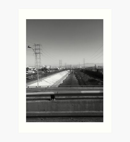 The L.A. River Art Print