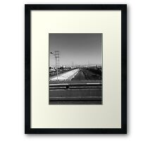 The L.A. River Framed Print