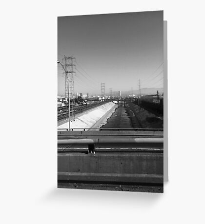 The L.A. River Greeting Card