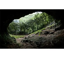 Pahntakai Cave View - Pohnpei Island, Micronesia Photographic Print