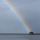 Rainbow at Nahlap - Pohnpei, Micronesia by Alex Zuccarelli