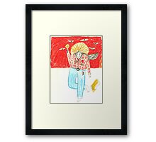 Wild West Woman Framed Print