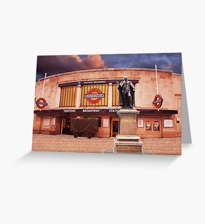 Tooting Broadway Station, SW17, London Greeting Card