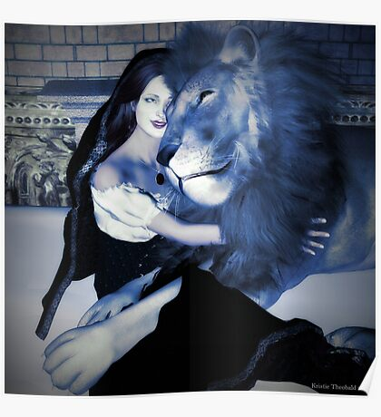 Lady and Lion Poster