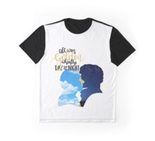 Golden Skies Johnlock Design Graphic T-Shirt