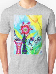 """Chex Floral"" by Jessie R Ojeda Unisex T-Shirt"