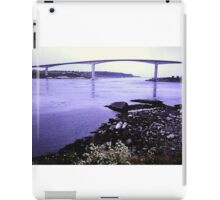 Bridge at Saltstraumen iPad Case/Skin
