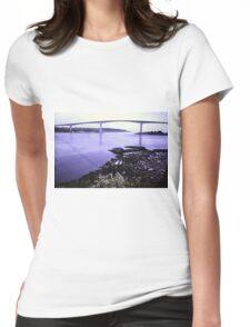 Bridge at Saltstraumen Womens Fitted T-Shirt