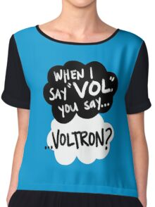 The Fault in Our Keith Chiffon Top