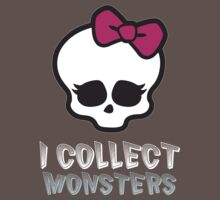 Monster Collector - Monster High Doll Shirt Dark Kids Clothes