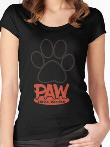 PAW Patrol Trooper Women's Fitted Scoop T-Shirt