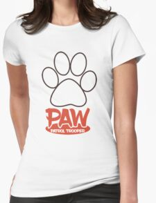 PAW Patrol Trooper Womens Fitted T-Shirt