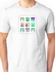 Cute Owl Pattern... digital cuties Unisex T-Shirt