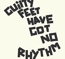 GUILTY FEET HAVE GOT NO RHYTHM (Arctic Monkeys) by JamieSandhu