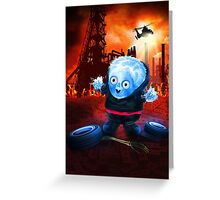 The Cospose - Electrifying Greeting Card