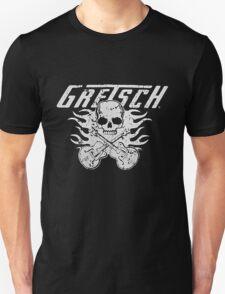 Gretsch Skull Flames Unisex T-Shirt