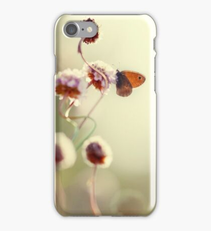 Impression in pastel colours iPhone Case/Skin