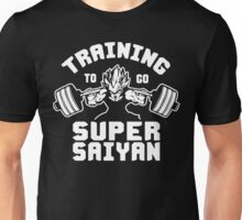 Training To Go Super Saiyan (Vegeta Squat - Leg Day) Unisex T-Shirt