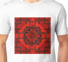 Red and Black All Over Unisex T-Shirt