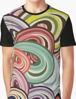 Color Splashes Graphic T-Shirt