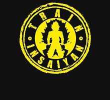 TRAIN INSAIYAN (Yellow Deadlift Crest) Unisex T-Shirt